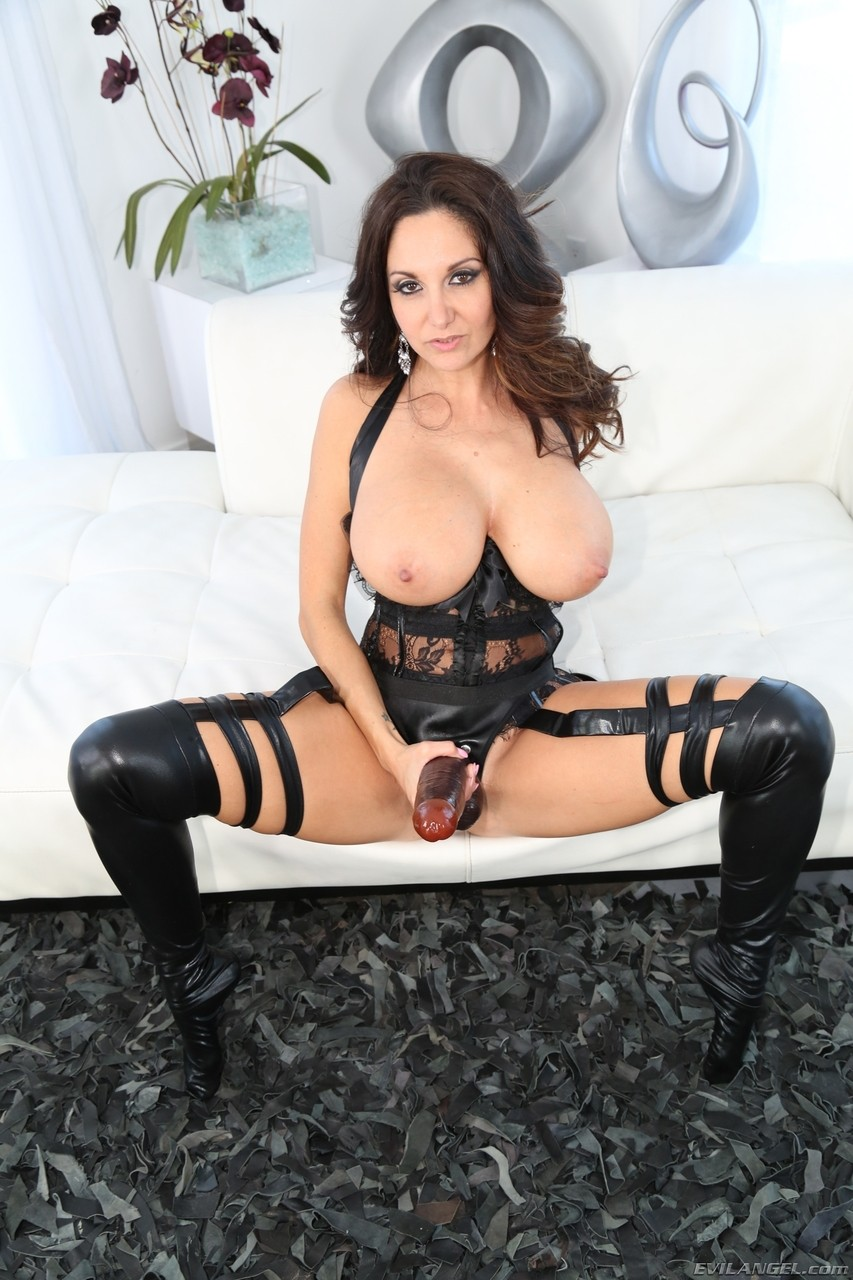 Glamour MILFs Phoenix Marie  Ava Addams screw each other with giant strapon
