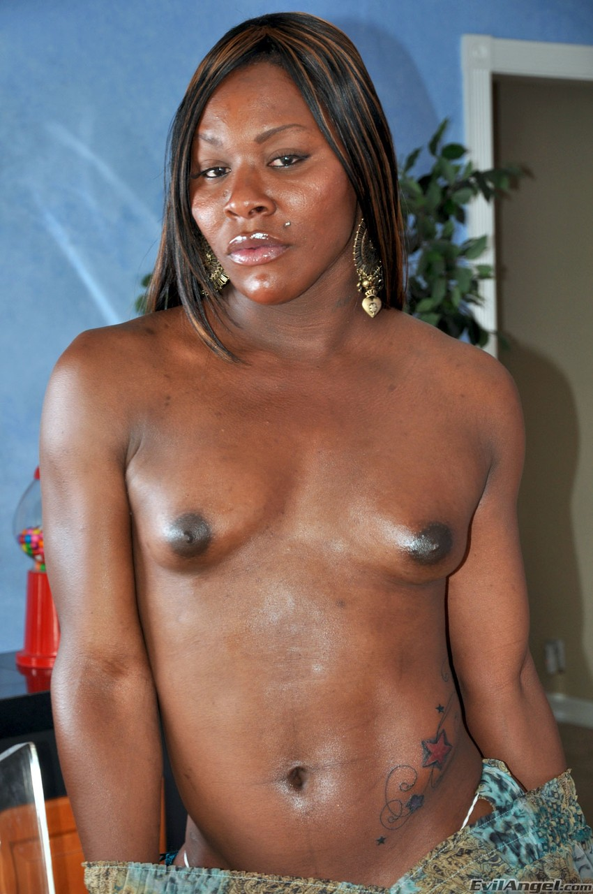Ebony Big Dick Beat Down
