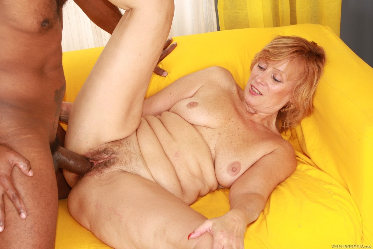 Creampie for my sweet old granny on gotporn