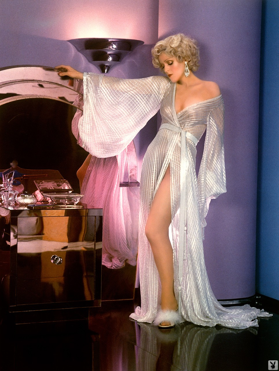 Provocative and enchanting doll Bernadette Peters teases your imagination