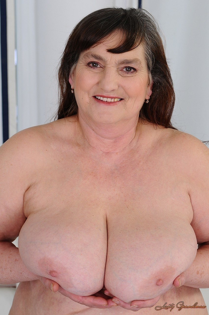 Granny Brunette Porn - Old and fat brunette granny Irma gets nailed by a horny porn ...