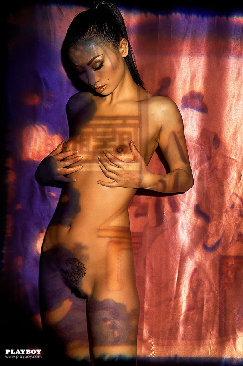 Bai Ling Nude chinese playboy muse bai ling reveals her glamorous body as
