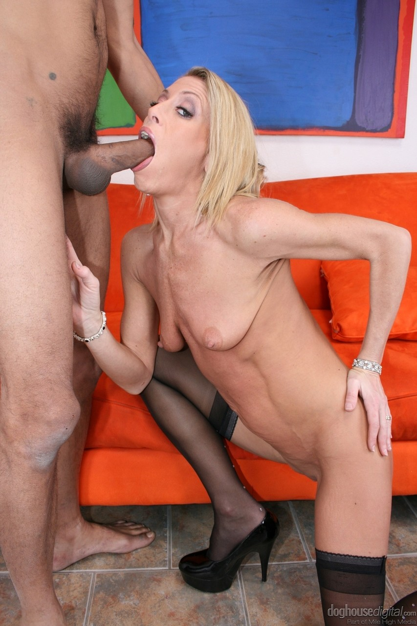 Black Dick Doggystyle Creampie