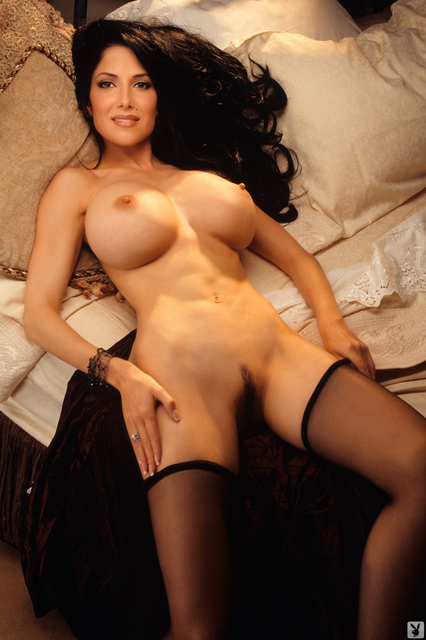 Some of the hottest American Playboy models showing their titties