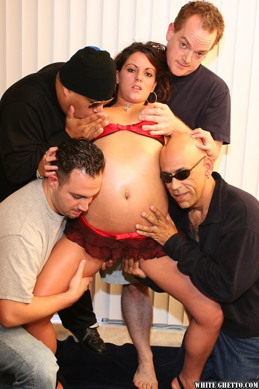 Hot Wife Hotel Gangbang