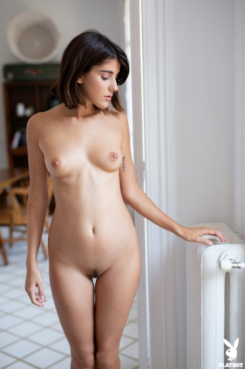 Ana Maria Porn shy american model ana maria gets rid of her clothes and
