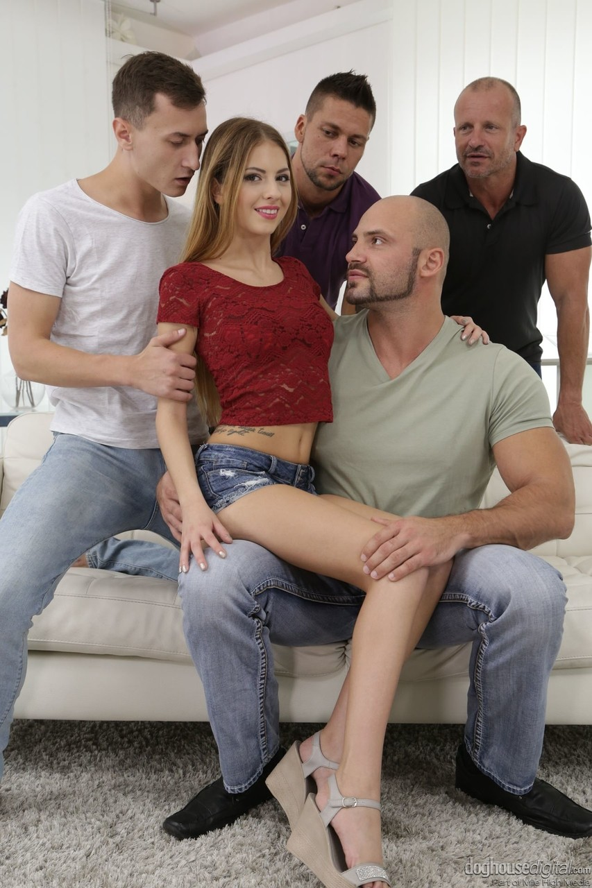 Great Gangbang with Anal and DP