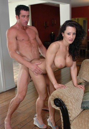Busty housewife Lisa Ann cheats on her husband with the man from next door