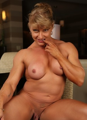 Female bodybuilders enlarged clitoris