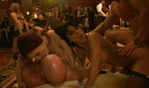 Lexi Belle and Phoenix Marie are horny swingers who love to get penetrated