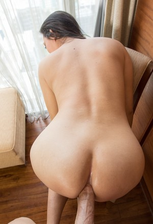 Cambodian shemale gets fucked in her ass after giving a POV blowjob