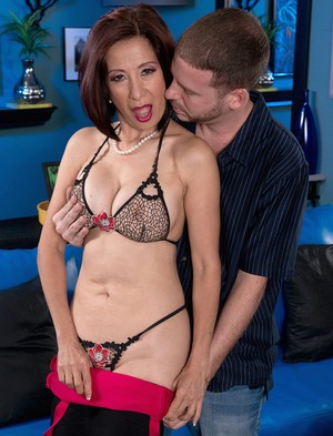 Asian Kim Anh gets her fake tits grabbed and cunt licked before an ass fucking