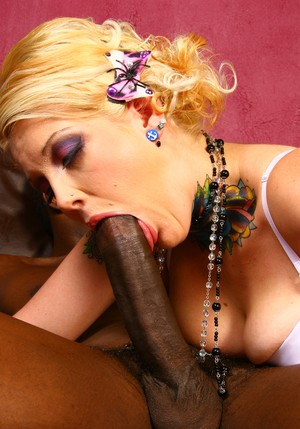 Middle-aged cuckold eats black jizz from the pussy of Candy Monroe