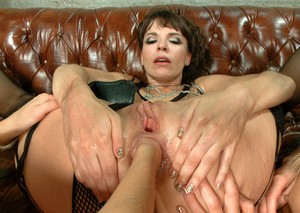 Bitches Jessie Volt, Dana DeArmond, Candice Dare enjoy hard anal stretching