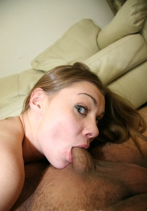 Black man with big cock gets fantastic deepthroat blowjob by Cindy Sterling