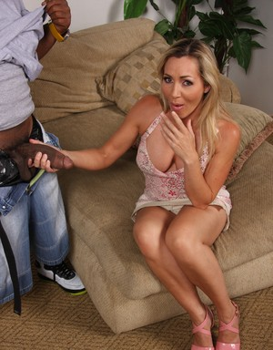 Cuckold wife Lisa DeMarco gets destroyed by her husband's black friend
