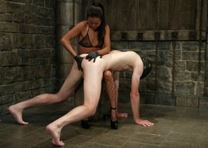 Femdom is always fun to watch when Lucy Lee is the one humiliating a guy.