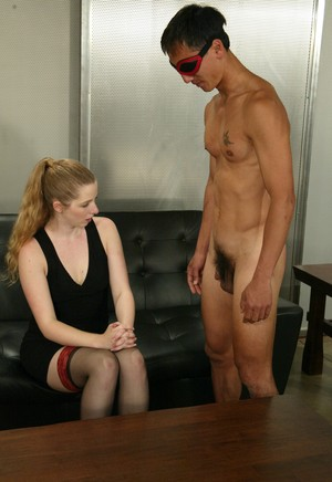 Clothed female Princess Kali paddles a man's ass until it turns red