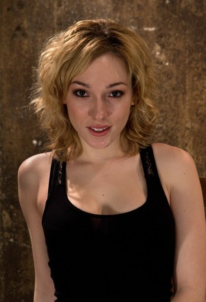Cute Lily LaBeau gets dominated by getting bound in rope and gag-balled