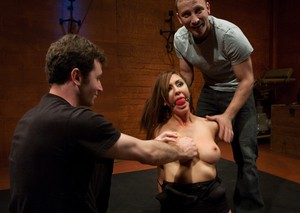 Amazing Princess Donna Dolore enjoys some roleplay and bondage while tagged