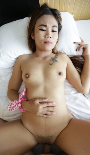 Beautiful pussy of Thai girl is amazingly tight and brings tons of pleasure
