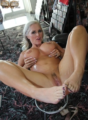 Busty white MILF Alena Croft does her first interracial gangbang