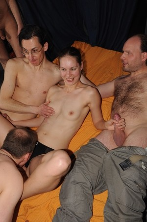 Barely Legal Teens Gangbang