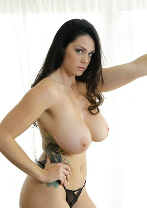 Big breasted Alison Tyler got her muff eaten and nailed by Johnny Castle
