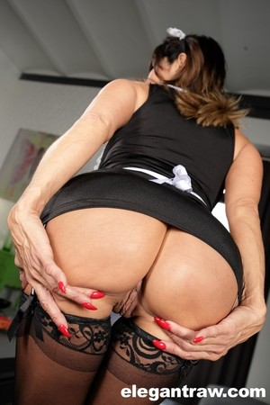 Busty French maid Tara Holiday has interracial sex with her employer
