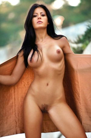 Beautiful Serbian female Tina Kovacevic takes off her clothes for Playboy