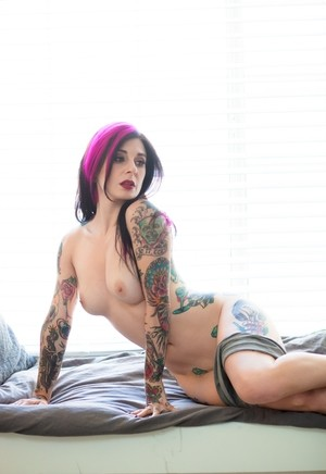 Fit mature tattooed woman will never loose her charm but even make guys cum