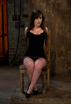 White girl Jennifer White tries helplessly to escape while being flogged