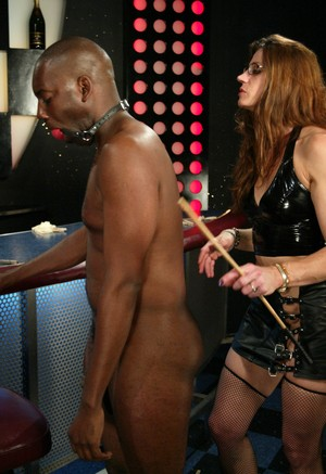 Porn Black Guy Glasses - Crazy mistress with glasses Kym Wilde punishes black guy ...