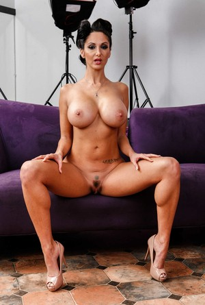 Black-haired mature MILF Ava Addams has huge tits and amazing body