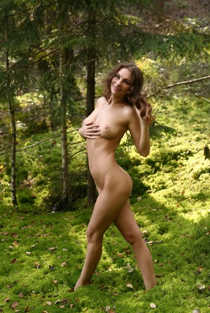 This nude nymph forest wood sorry