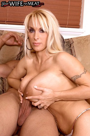 Mature Holly Halston gives her stud a titty fuck  gets massive juggs creamed