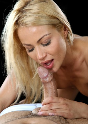 Fascinating blonde Cherry Kiss has sex with Renato in different positions