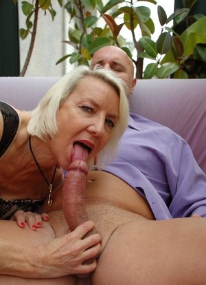Blonde Mature First Time