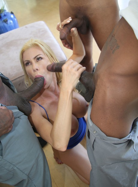 Big Dick Handjob Cumshot Blond