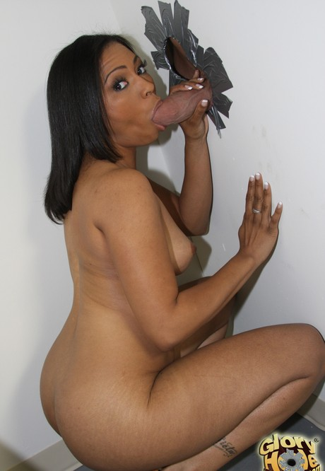 Black Stepmom Sucking Dick